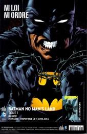 Verso de Batman Saga -23- Numéro 23