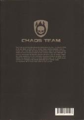 Verso de Chaos Team -3- Tome 2.1