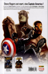 Verso de Captain America (Marvel Deluxe - 2011) -4- Le rêve est mort