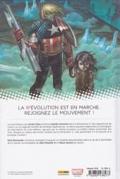 Verso de Captain America (Marvel Now!) -1- Perdu dans la dimension Z (I)