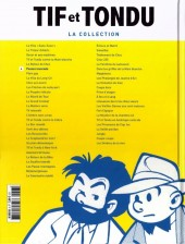 Verso de Tif et Tondu - La collection (Hachette)  -6- Passez muscade