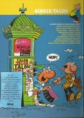 Verso de Achille Talon - La collection (Cobra) -1- Les idées d'Achille Talon cerveau-choc !