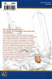 Verso de Seven Deadly Sins -3- Tome 3