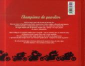 Verso de Joe Bar Team -HS8- Les 60 motos mythiques des champions de quartier