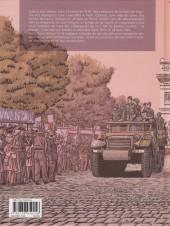 Verso de La nueve - La Nueve-Les républicains espagnols qui ont libéré Paris