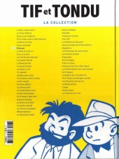 Verso de Tif et Tondu - La collection (Hachette)  -7- Plein gaz