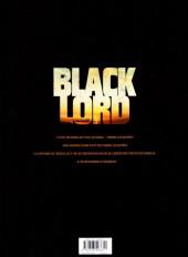Verso de Black Lord -1- Somalie : année 0