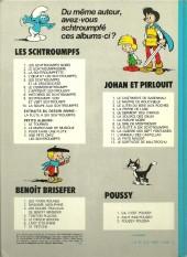 Verso de Les schtroumpfs -2b82- Le Schtroumpfissime (+ Schtroumpfonie en ut)