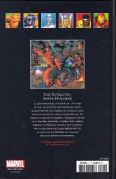 Verso de Marvel Comics - La collection (Hachette) -427- The Ultimates - Super-humains