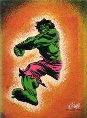 Verso de Albums Artima DC/Marvel Super Star Géants - L'incroyable Hulk