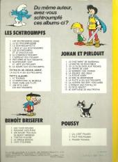 Verso de Les schtroumpfs -4b78- L'œuf et les Schtroumpfs