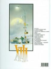 Verso de XIII -6b2003- Le dossier Jason Fly