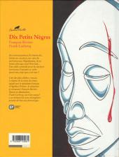 Verso de Agatha Christie (Emmanuel Proust Éditions) -3- Dix Petits Nègres