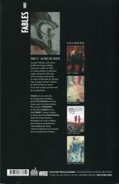 Verso de Fables (avec couverture souple) -21- Au pays des jouets