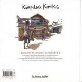 Verso de Kompilasi Komikus - [Carnet de résidences] en Indonésie