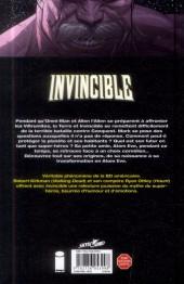 Verso de Invincible -12- Le Calme avant la tempête