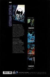 Verso de Gotham Central (Urban comics) -1- Tome 1