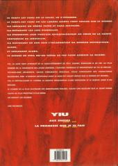 Verso de Yiu -2- La promesse que je te fais