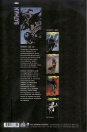 Verso de Batman : No Man's Land -1- Tome 1