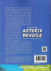Verso de Astérix (Autres) - Astérix dévoilé - Argot, jeux de mots et gauloiseries