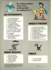 Verso de Les schtroumpfs -8b81- Histoires de schtroumpfs