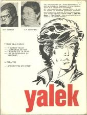 Verso de Yalek -4'- Les prisonniers de Yacomac