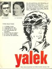 Verso de Yalek -7'- Le maître de Bannock