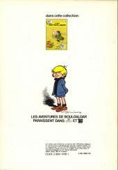 Verso de Bouldaldar et Colégram -3- Armande du lac des brumes