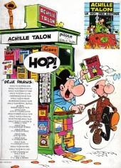 Verso de Achille Talon -19b80- Achille Talon et le grain de folie