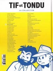 Verso de Tif et Tondu - La collection (Hachette)  -9- Choc au Louvre