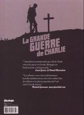 Verso de La grande Guerre de Charlie -6- De Messines à Passchendaele