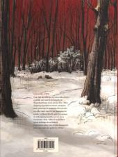 Verso de Rouge comme la neige