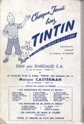 Verso de (Recueil) Tintin (Album du journal - Édition française) -40- Tintin album du journal