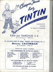 Verso de (Recueil) Tintin (Album du journal - Édition française) -60- Tintin Album du Journal