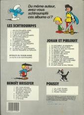 Verso de Les schtroumpfs -4b85- L'œuf et les schtroumpfs
