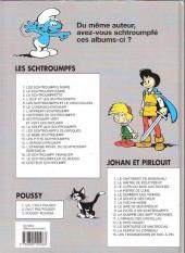 Verso de Les schtroumpfs -1d01- Les schtroumpfs noirs