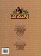 Verso de Papyrus -2b2004- Le maître des trois portes