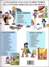 Verso de Benoît Brisefer -1d2003- Les taxis rouges