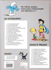 Verso de Johan et Pirlouit -10d00- La guerre des 7 fontaines