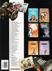 Verso de Spirou et Fantasio -7h03- Le dictateur et le champignon