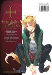 Verso de Pure Blood Boyfriend - He's my only vampire -3- Tome 3