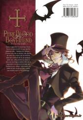 Verso de Pure Blood Boyfriend - He's my only vampire -2- Tome 2