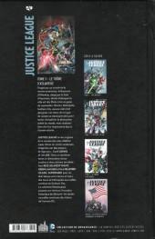 Verso de Justice League (DC Renaissance) -3- Le Trône d'Atlantide