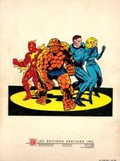 Verso de Les fabuleux Fantastic Four - Les Fabuleux Fantastic Four