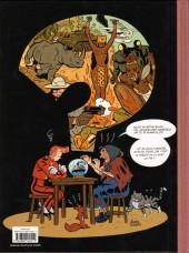Verso de Spirou et Fantasio (en langues régionales) -Brux- Le fétichke du Kongo