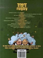 Verso de Tout sur... -10- Le rugby