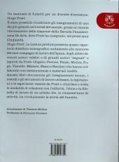 Verso de (AUT) Pratt, Hugo (en italien) - Hugo Pratt - Le lezioni perdute
