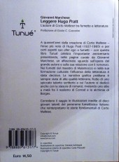 Verso de (AUT) Pratt, Hugo (en italien) - Leggere Hugo Pratt