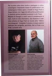 Verso de (AUT) Pratt, Hugo (en italien) -TL- Hugo Pratt - Tuttifumetti