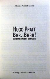 Verso de (AUT) Pratt, Hugo (en italien) -Cat- Hugo Pratt - Brr..Brrr! - The British Winter's Grenadiers